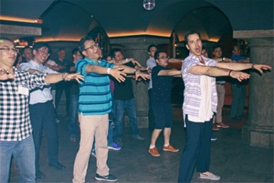 Teambuilding Übung Flashmob