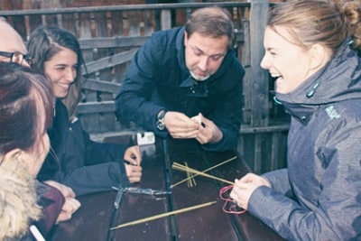 Teambuilding Übung Marshmallow Challenge