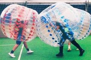Teambuilding Übung Bubbel Battle