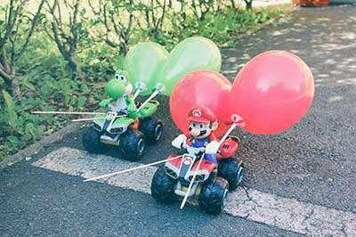 Teambuilding Übung Mario Kart