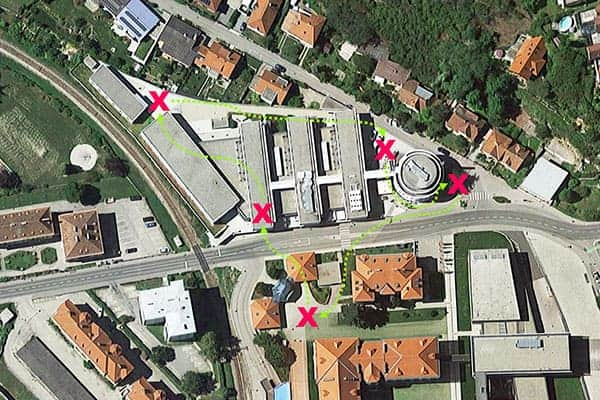 Sinnbildliche Darstellung der Team-Challenge beim Arte Hotel in Krems