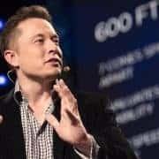 Elon Musk bei einem TED-Vortrag