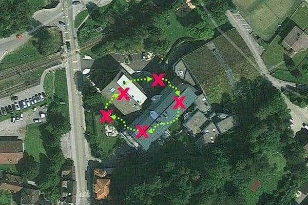 Team-Challenge als Teambuilding beim Hotel Schneeberghof