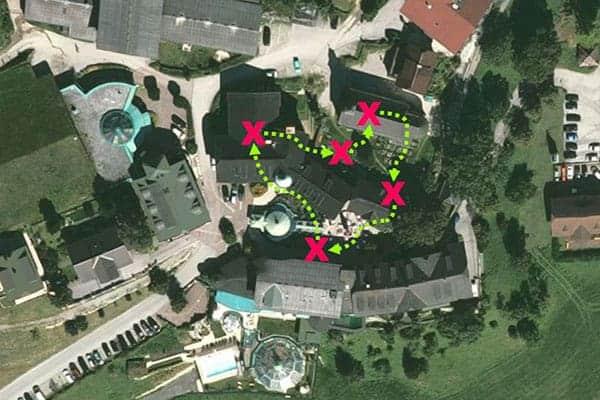 Team-Challenge als Teambuilding beim Hotel Pichlmayrgut