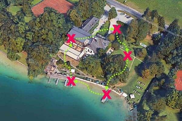 Lustige Team-Challenge als Teambuilding beim Landhaus zu Appesbach am Wolfgangsee