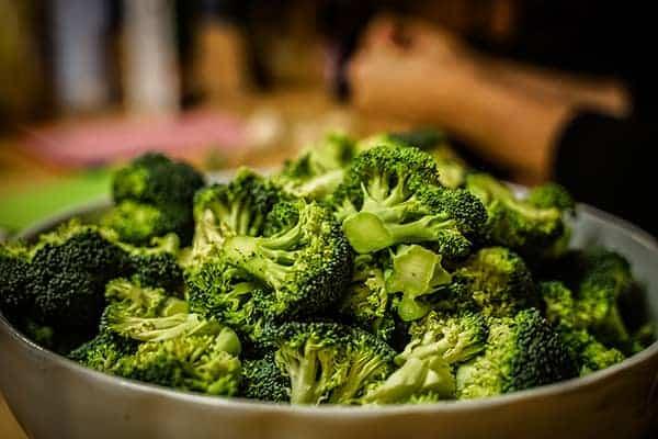 Brokoli beim Teamkochen bei der Weihanchtsfeier