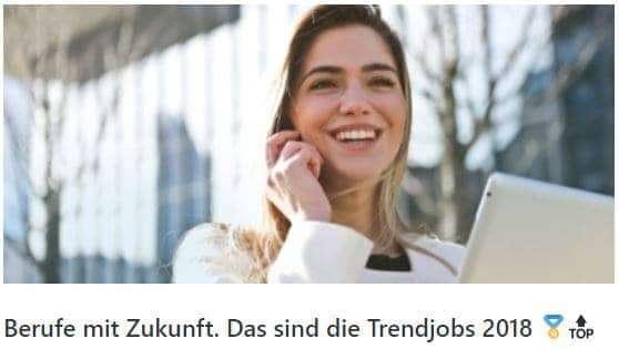 Berufe mit Zukunft. Das sind die Trendjobs 2019