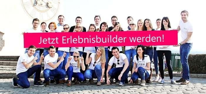 Erlebnisbuilder in Graz werden