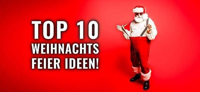Ideen Weihnachtsfeier Firma.Die Top 10 Ideen 2019 Fur Eine Lustige Weihnachtsfeier