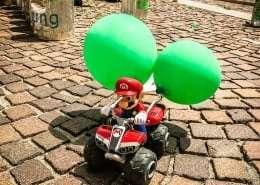 Mario Kart bei der City-Challenge in Klagenfurt