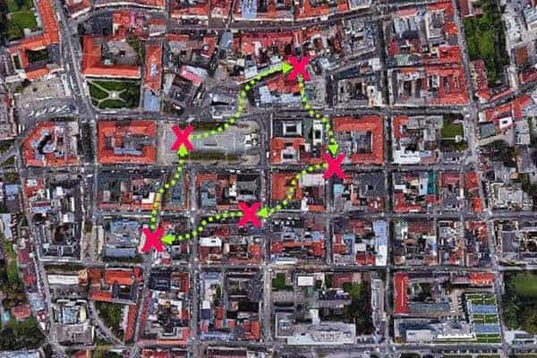 Sinnbildliche Darstellung der Challenge in Klagenfurt