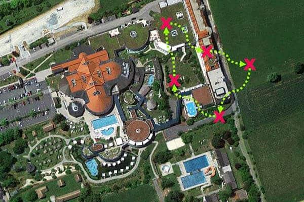 Sinnbildliche Darstellung der Challenge beim AVITA Resort