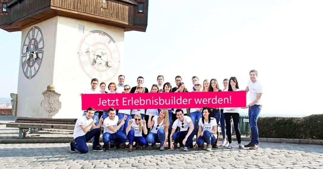 Erlebnisbuilder in Graz gesucht
